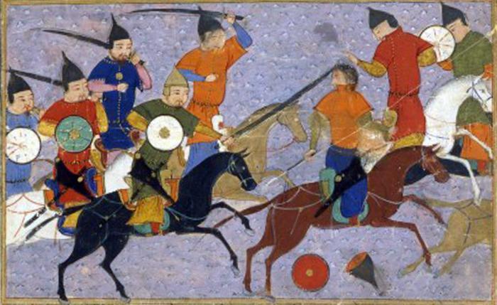 L'invasione mongolo-tatara della Russia brevemente