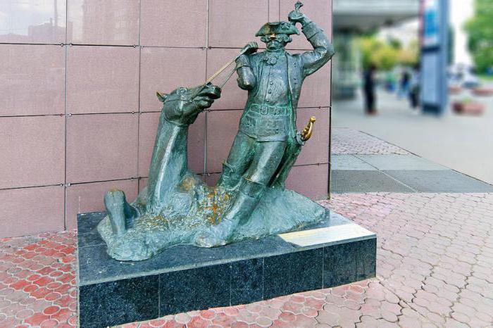 monumento all'eroe letterario Pinocchio