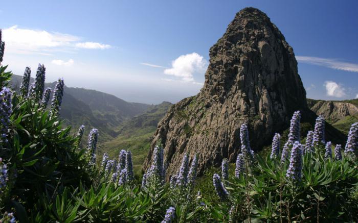 foto di monumenti naturali