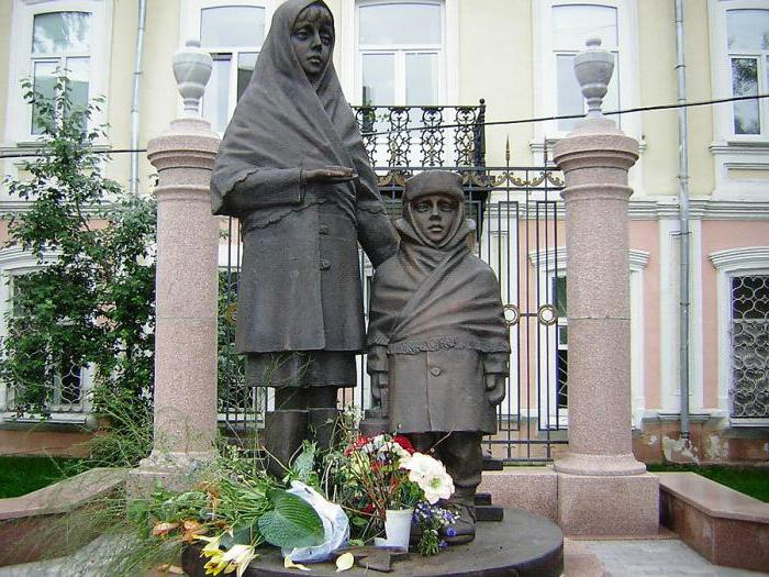 spomenikov vojnim otrokom