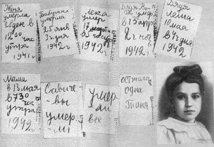otroci obleganega Leningrada