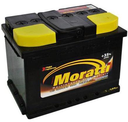 ауто баттери моратти