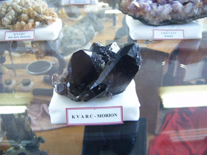 црни морион камен