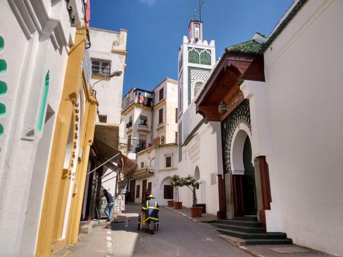 Забележителности в Танжер Мароко