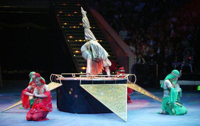 Moskva Nikulův cirkus na bulváru Tsvetnoy: vstupenky