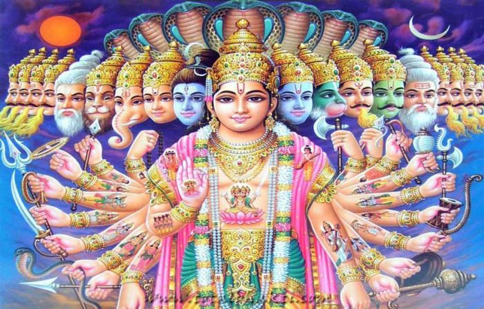 Пантеон на боговете от индийски богове