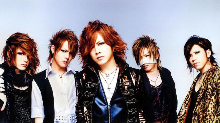 lista di bande rock giapponesi
