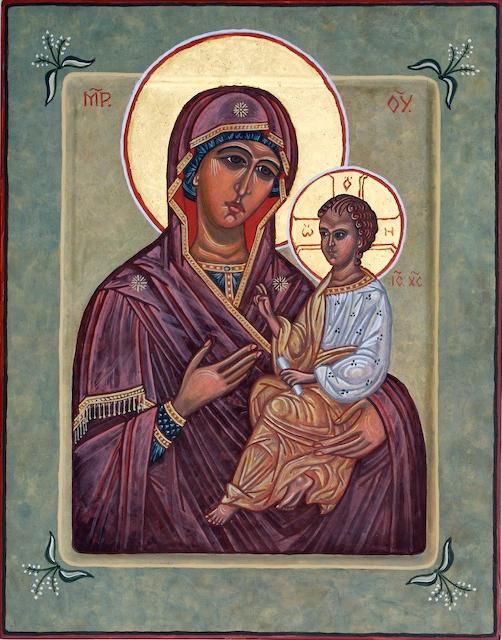 ikona Majke Božje pomaže