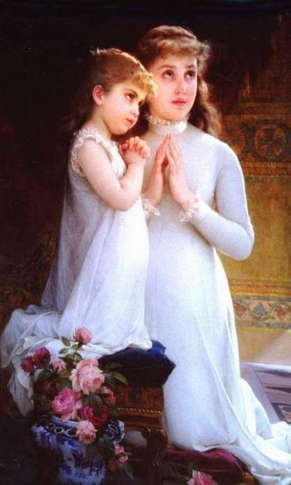 la preghiera della madre per la figlia
