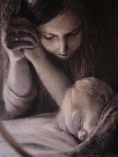 forte preghiera della madre per la figlia