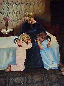 La preghiera della madre per il matrimonio alla figlia