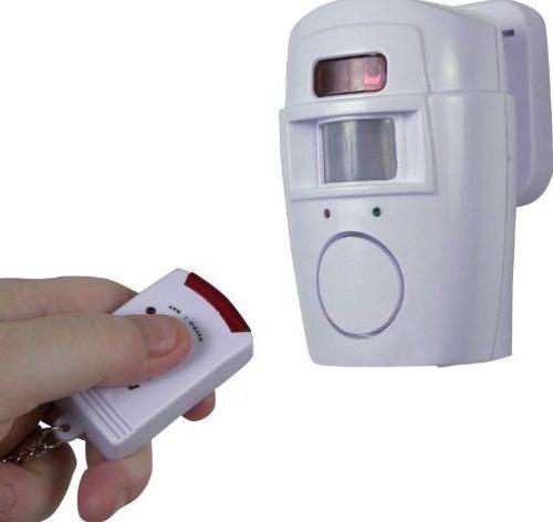 sensore di movimento wireless per allarme