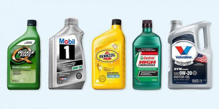 classificazione della viscosità degli oli motore