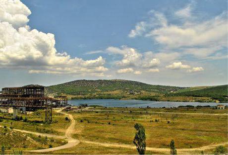 Hasforta montagna Crimea