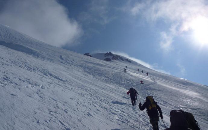 Fotografija planine Kazbek