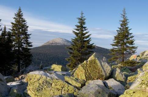 Kruglitsa mountain Taganay