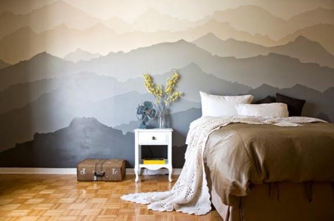 стајати на планини у сну