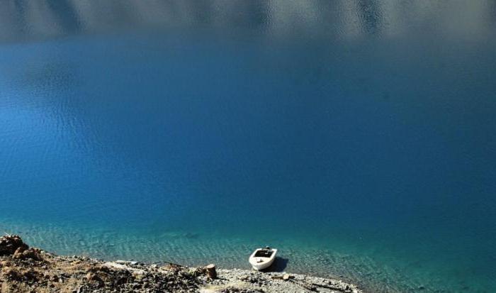 највеће планинско језеро
