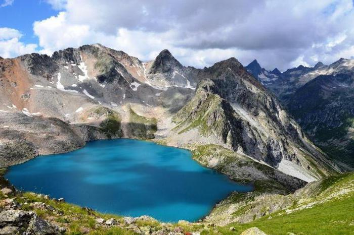 планинска језера Русије