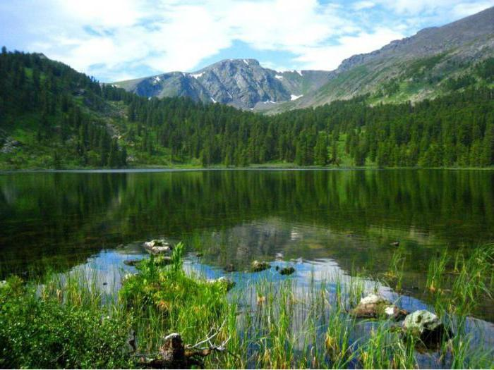 Караколска језера на планини Алтаи