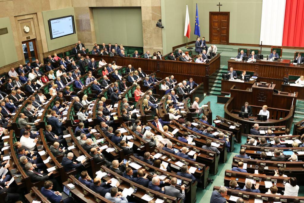 Poljski parlament.