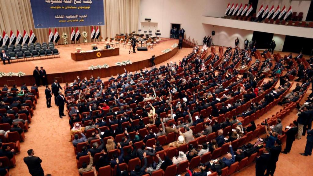 Irački parlament.