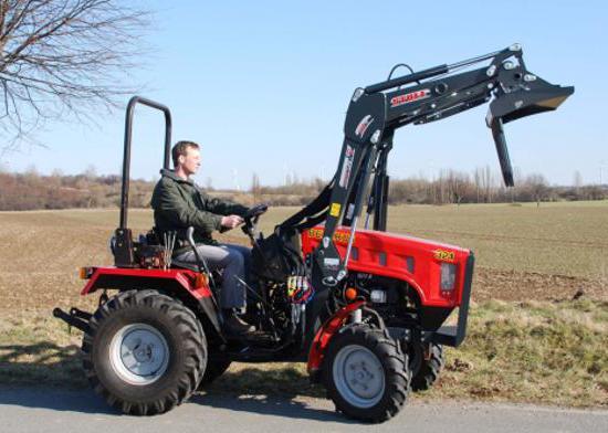 koliko je mini traktor mtz
