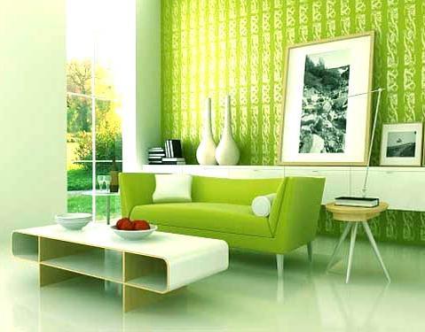 Зелена боја