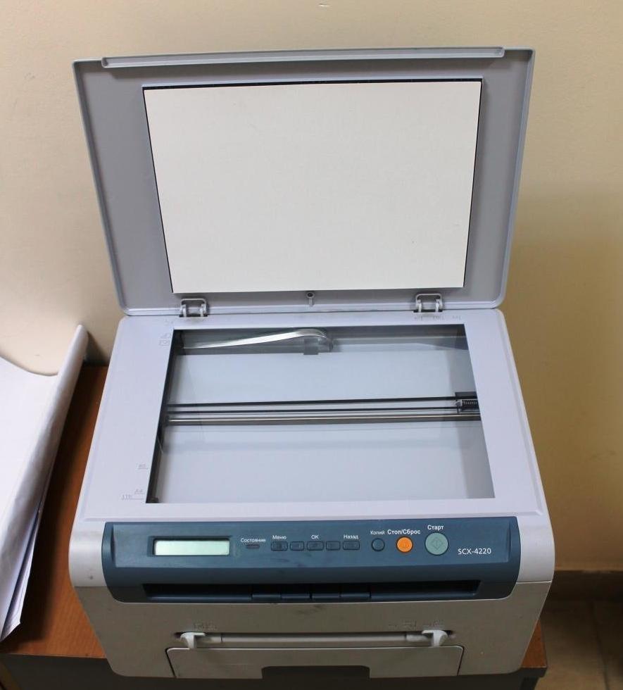 greška skenera samsung scx 4220