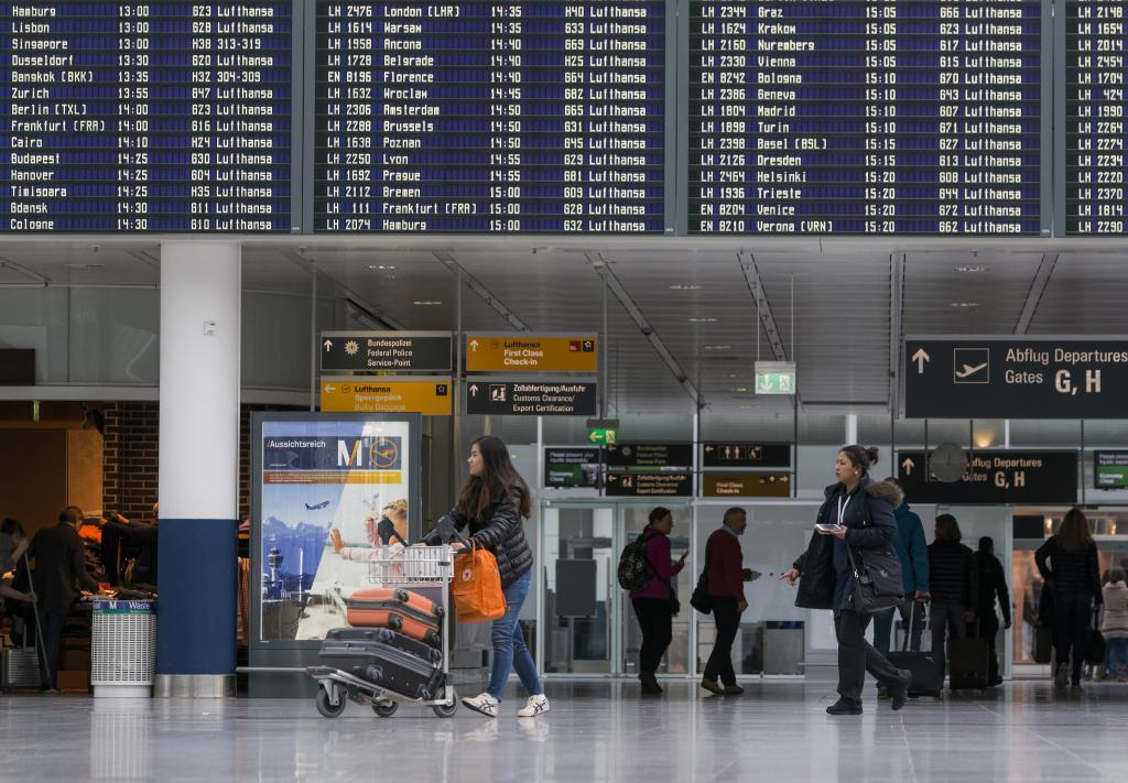 Preglednica zračne luke München