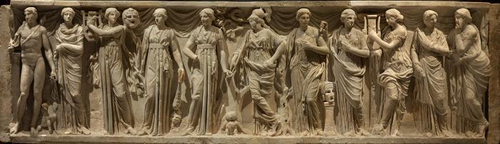nomi delle muse della Grecia antica