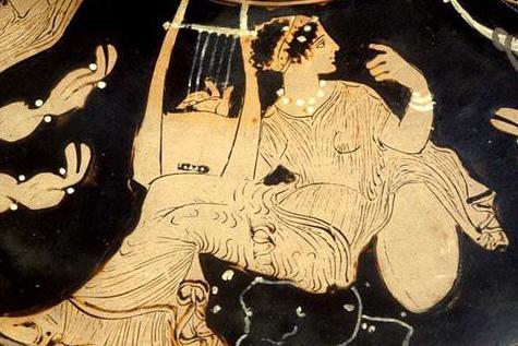 имена на девет музи от древна Гърция