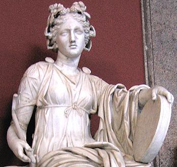 la musa della Grecia antica
