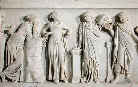 miti dell'antica musa greca