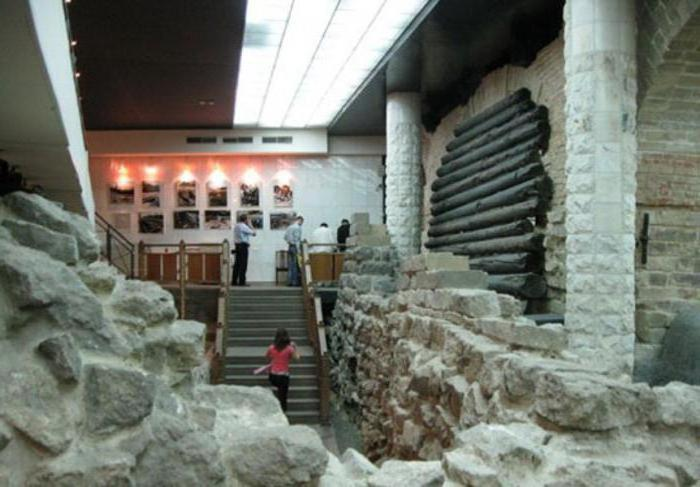 La principale collezione del Museo di Archeologia a Mosca