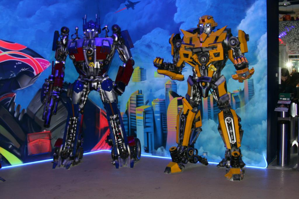 Transformers nel museo