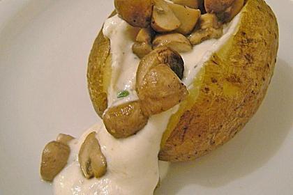 шампињони са кромпиром