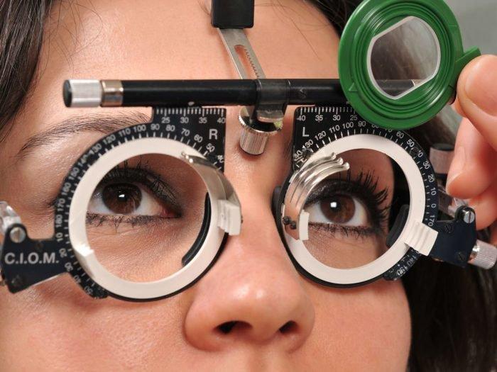 Selezione della lente