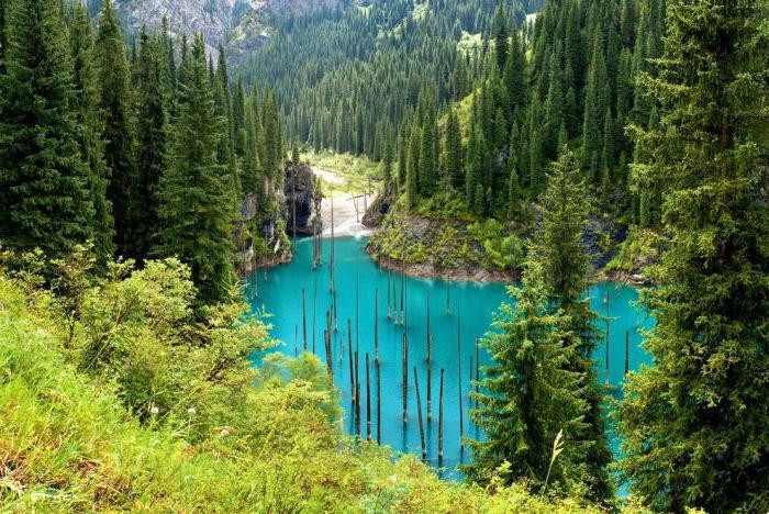 Kaindy Lake Almaty