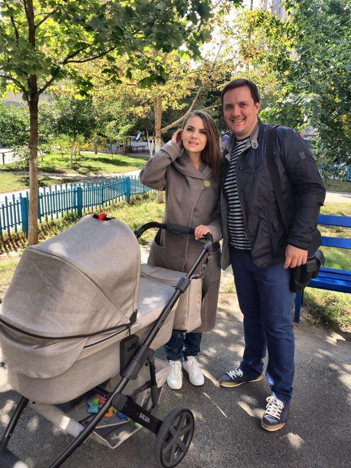 Con marito e figlio