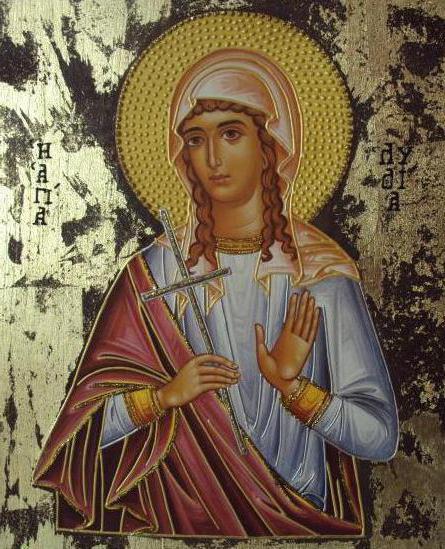 ime Lidije na crkvenom kalendaru