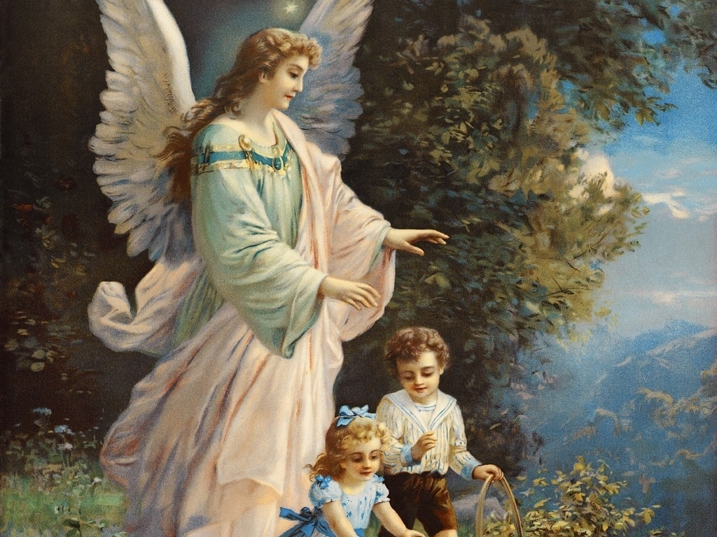 Ангел защитава Максим