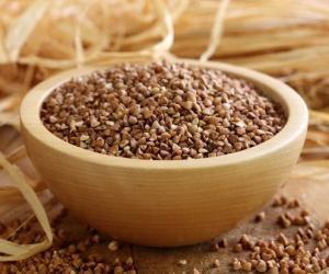 porridge di grano saraceno a bagnomaria
