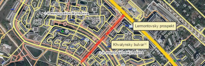 stazione della metropolitana zhulebino mosca