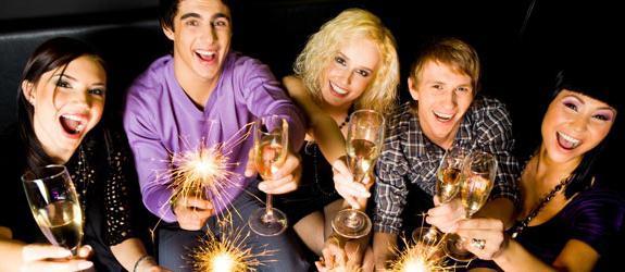 nova godina s novim prijateljima