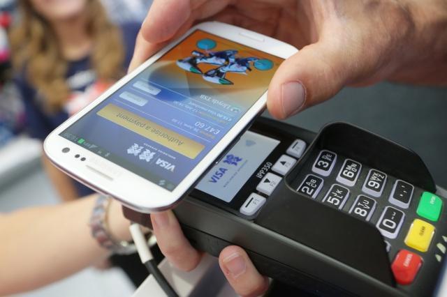 funzione nfc nel telefono Samsung