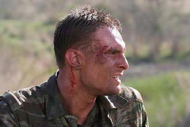 Igralec Nikita Emshanov v filmu