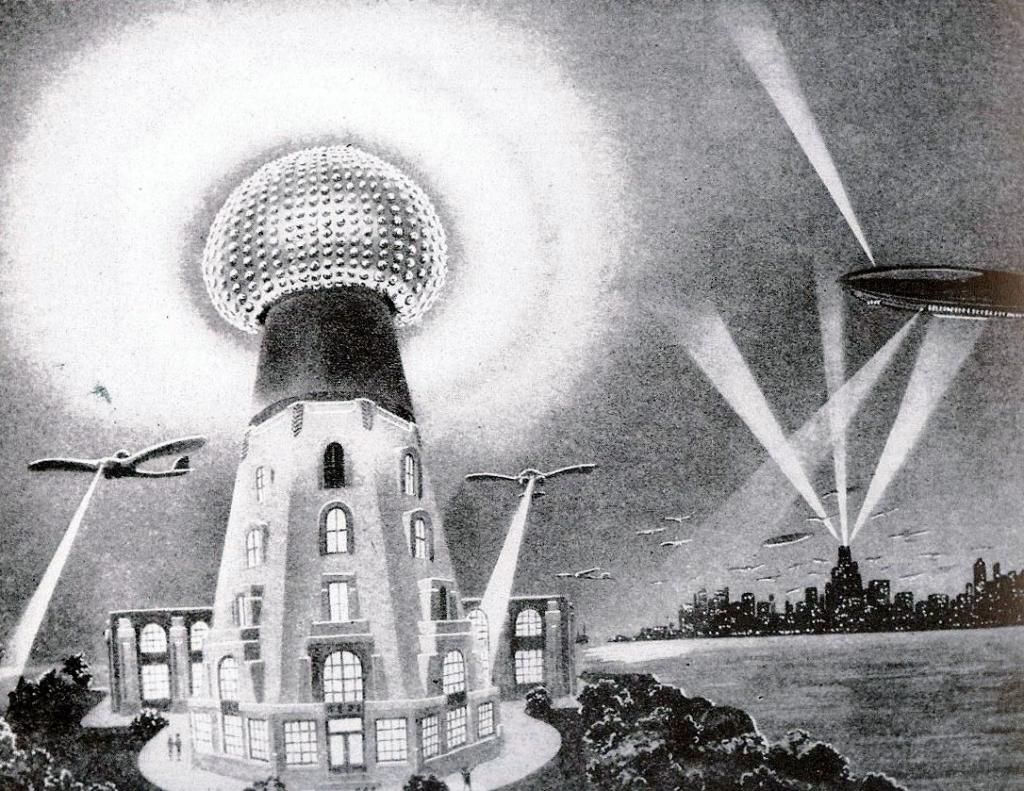 raggio della morte di Nikola Tesla