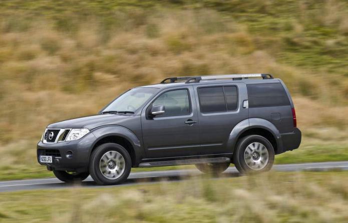 Specifikacije Nissan Pathfinder