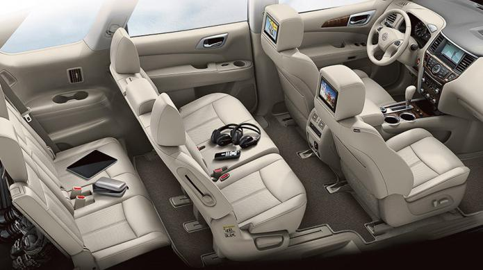 avtomatski menjalnik Nissan Pathfinder
